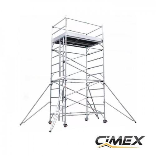 Алуминиево скеле 6 метра ALUMAX ContractorPro 4.0