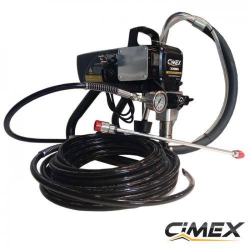 МАШИНИ ЗА БОЯДИСВАНЕ - Машина безвъздушно боядисване CIMEX AIRLESS X390N