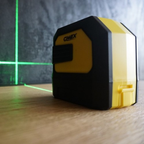 ФЕЙСБУК ИГРА - Лазерен нивелир със зелен лъч и кръстосани линии CIMEX 1H1V-G
