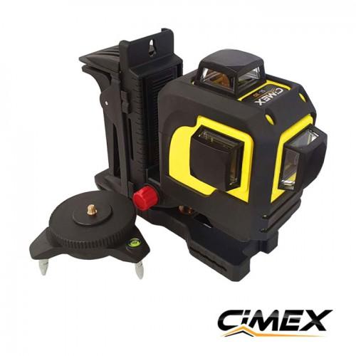 3D Лазерен нивелир CIMEX SL3D ProPack