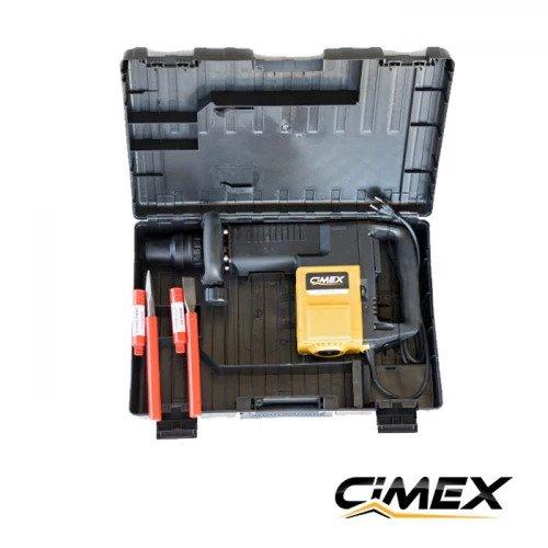 КЪРТАЧИ И ПЕРФОРАТОРИ - Професионален къртач 11 кг., CIMEX HB11 + Перфоратор с бързосменяем патронник CIMEX HB3 - 3.2 J , SDS+ до 30 мм.
