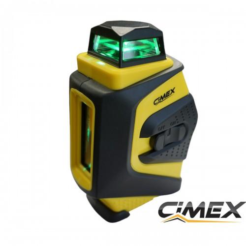 Лазерен нивелир 360 градуса със зелен лъч CIMEX RL4H1V-G