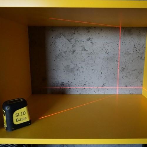 ЛАЗЕРНИ НИВЕЛИРИ - Лазерен нивелир с кръстосани линии CIMEX SL10 BASIC