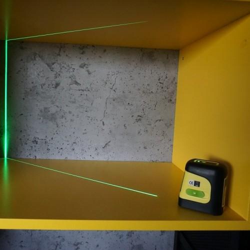 ЛАЗЕРНИ НИВЕЛИРИ - Лазерен нивелир с кръстосани линии - зелен лъч