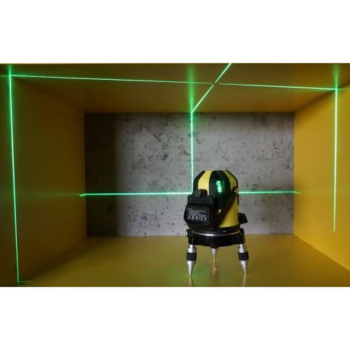 ЛАЗЕРНИ НИВЕЛИРИ - Лазерен нивелир със зелен лъч 1H4VG, самонивелиращ