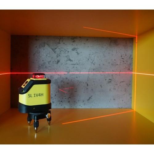ЛАЗЕРНИ НИВЕЛИРИ - Лазерен нивелир 360 градуса CIMEX SL1V4H