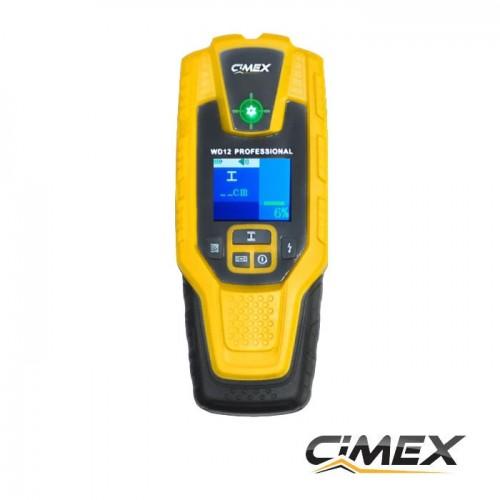 ИЗМЕРВАТЕЛНА ТЕХНИКА - Детектор за кабели под наем CIMEX WD12 Professional