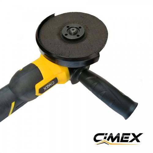 АКУМУЛАТОРНИ МАШИНИ - Акумулаторен ъглошлайф 125 мм CIMEX