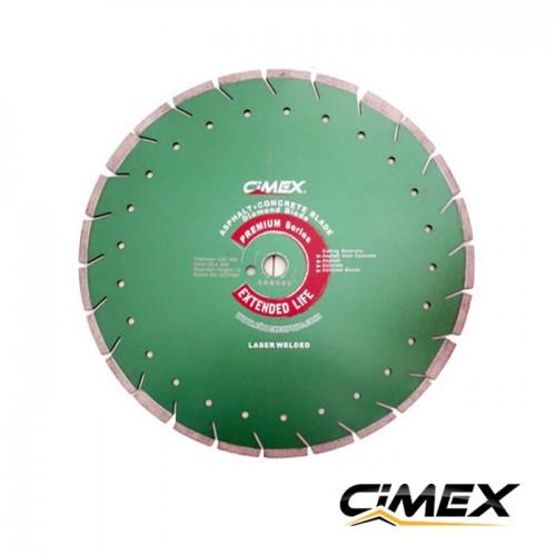 Диамантени дискове - Комбиниран диамантен диск за бетон и асфалт 400 мм.