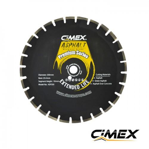 Диамантени дискове - Диамантен диск за асфалт 350 мм. CIMEX ASP350