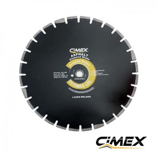 Диамантени дискове - Диамантен диск за асфалт 400 мм.  CIMEX ASP400
