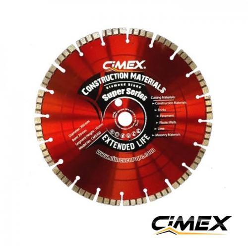 Диамантени дискове - Диамантен диск за строителни материали 300 мм