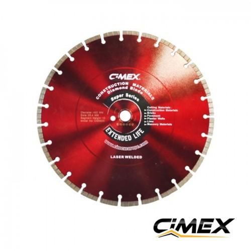 Диамантени дискове - Диамантен диск за строителни материали 400 мм