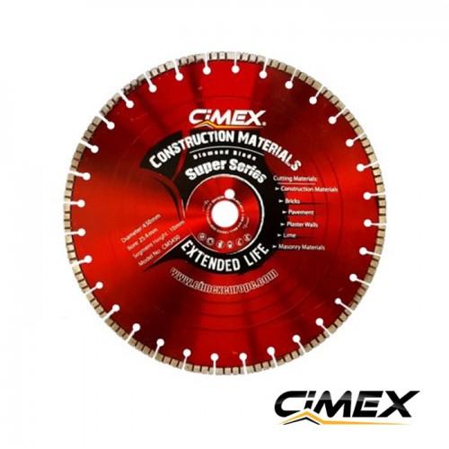 Диамантени дискове - Диамантен диск за рязане на строителни материали 450 мм
