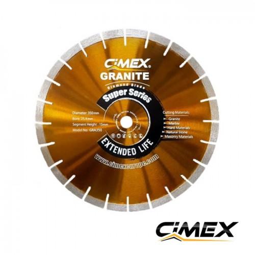 Диамантени дискове - Диамантен диск за рязане на гранит 350 мм