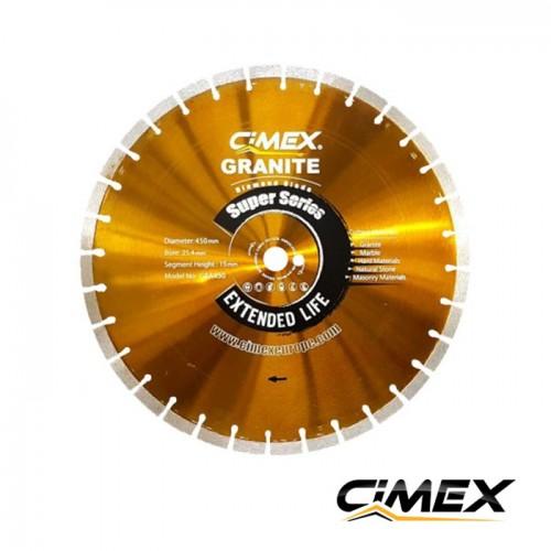 Диамантени дискове - Диамантен диск за рязане на гранит 450 мм