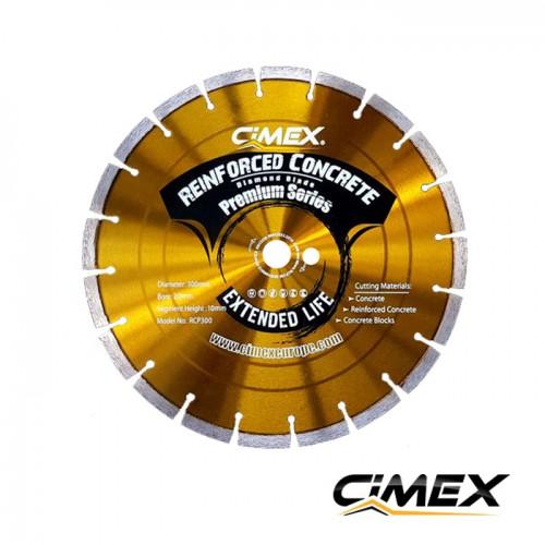 Диамантени дискове - Диамантен диск за бетон 300 мм. CIMEX RCP300
