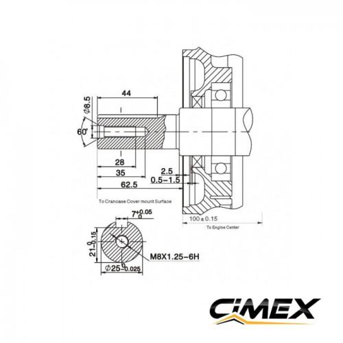 ДВИГАТЕЛИ - Бензинов двигател 13 к.с CIMEX G390