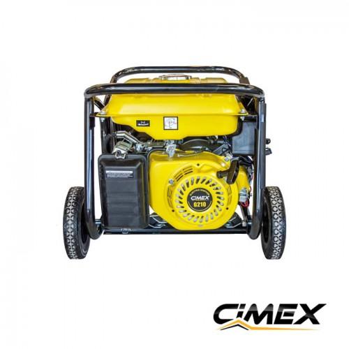 ГЕНЕРАТОРИ ЗА ТОК - Генератор за ток 3.0 kW, електрически старт, АВР, колела - CIMEX PG4000S