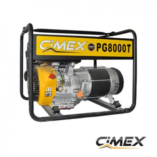 ГЕНЕРАТОРИ ЗА ТОК - Трифазен генератор за ток CIMEX PG8000T