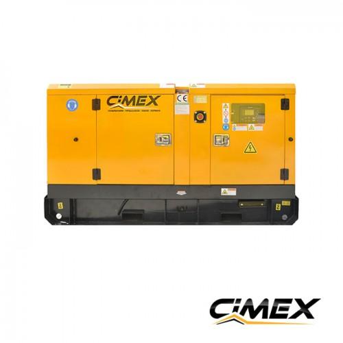 ГЕНЕРАТОРИ ЗА ТОК - Дизелов генератор, обезшумен CIMEX SDG120 - 124 kVA