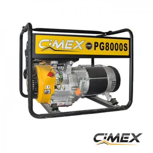 ГЕНЕРАТОРИ ЗА ТОК - Монофазен генератор за ток CIMEX PG8000