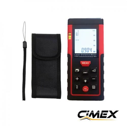 ИЗМЕРВАТЕЛНА ТЕХНИКА - Лазерна ролетка CIMEX LM40