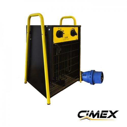 ЕЛЕКТРИЧЕСКИ КАЛОРИФЕРИ - Електрически калорифер 5.0kW, CIMEX EL5.0S