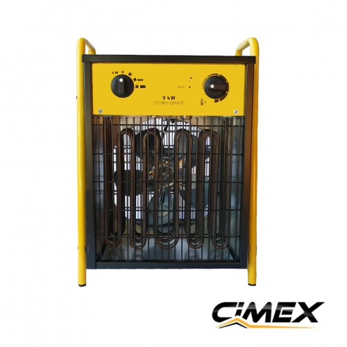 ЕЛЕКТРИЧЕСКИ КАЛОРИФЕРИ - Електрически калорифер 9.0kW, CIMEX EL9.0