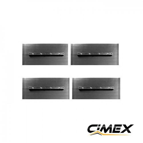 КОНСУМАТИВИ - Лопатки за пердашка за бетон 60 см, 4 бр. комплект