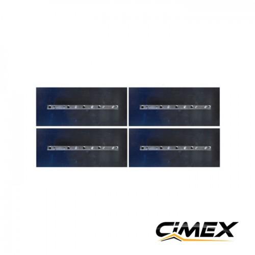 КОНСУМАТИВИ - Лопатки за пердашка за бетон 90 см, 4 бр. комплект