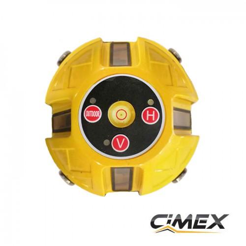 ЛАЗЕРНИ НИВЕЛИРИ - Лазерен нивелир с 5 лъча, самонивелиращ CIMEX 1H4V