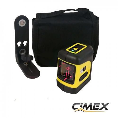 ЛАЗЕРНИ НИВЕЛИРИ - Самонивелиращ лазерен нивелир с кръстосани линии CIMEX SL10