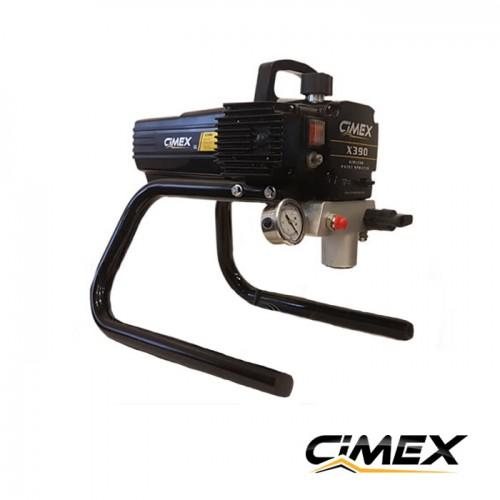МАШИНИ ЗА БОЯДИСВАНЕ - Машина безвъздушно боядисване CIMEX AIRLESS X390