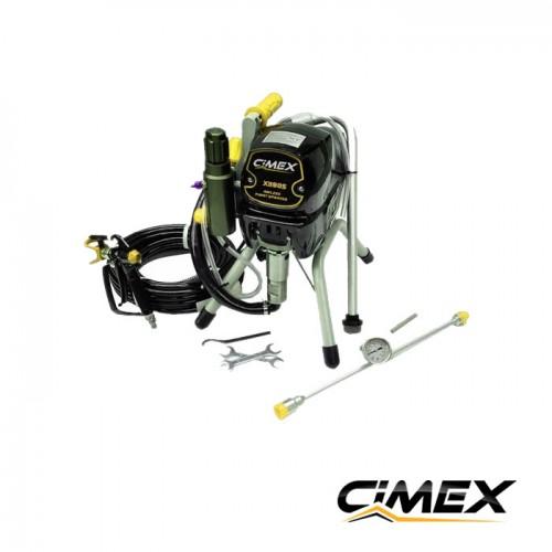 МАШИНИ ЗА БОЯДИСВАНЕ ПОД НАЕМ - Машина боядисване под наем CIMEX AIRLESS X390S