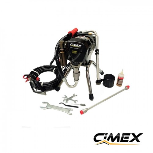 МАШИНИ ЗА БОЯДИСВАНЕ - Машина безвъздушно боядисване CIMEX AIRLESS X490
