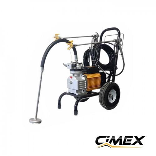 МАШИНИ ЗА БОЯДИСВАНЕ - Машина за безвъздушно боядисване с мембранна помпа X990