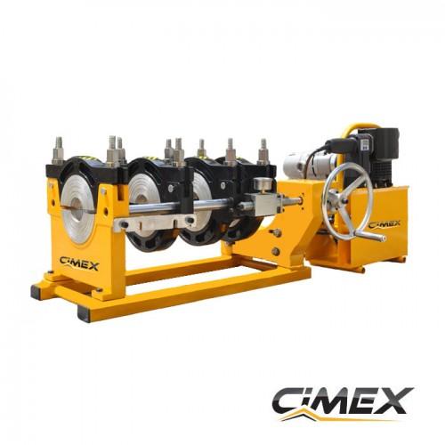 МАШИНИ ЗА ЧЕЛНО ЗАВАРЯВАНЕ - Машина за челно заваряване на тръби CIMEX PP160