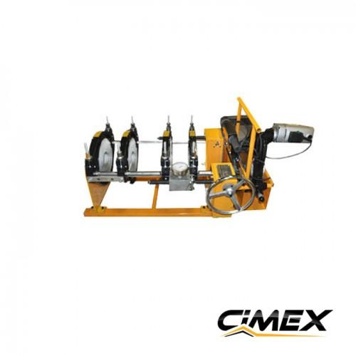 МАШИНИ ЗА ОБРАБОТВАНЕ НА ТРЪБИ ПОД НАЕМ - Машина под наем за челно заваряване на тръби CIMEX HPP250