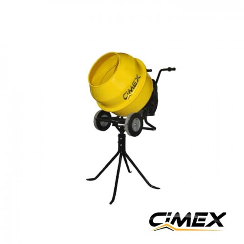 БЕТОНОБЪРКАЧКИ / МИКСЕРИ ЗА БЕТОН - Бетонобъркачка (миксер за бетон) 160 л. CIMEX MIX160-М
