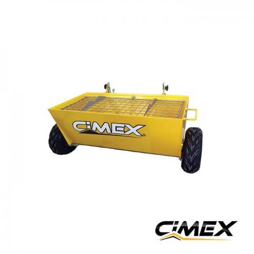 ОБРАБОТКА НА БЕТОН - Количка за посипка на бетон CIMEX CWB100