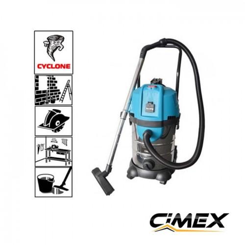 МАШИНИ ЗА ПОЧИСТВАНЕ - Прахосмукачка с циклонен филтър CIMEX VAC30CY