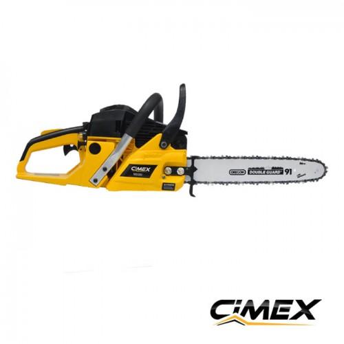 МОТОРНИ ТРИОНИ - Резачка за дърва / моторен трион CIMEX MS350-16