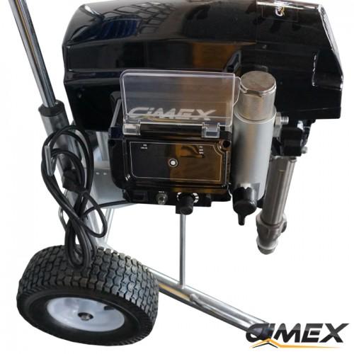 МАШИНИ ЗА БОЯДИСВАНЕ - Машина за пръскане на шпакловка и безвъздушно боядисване Cimex X690LP