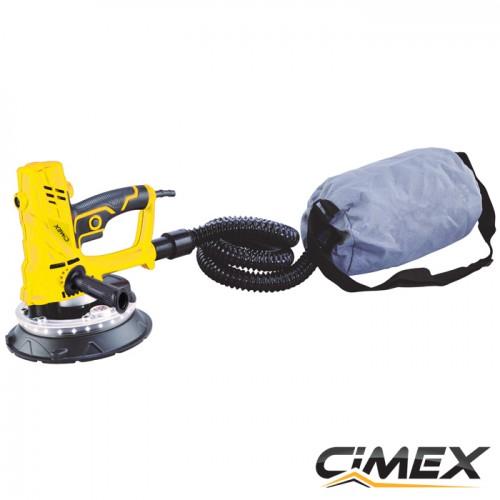 Професионална мини шлайф машина за стени и тавани CIMEX DWS225H!