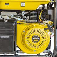 Генератор за ток 6.5 kW, AVR, LTS, електрически старт - CIMEX PG8000S - ТОП ЦЕНА!