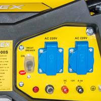 Генератор за ток 3.0 kW, електрически старт, АВР, колела - CIMEX PG4000S