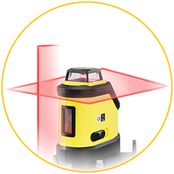 Лазерен нивелир 360 градуса